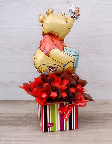 chocolate: Pooh Bear Chocolate Star Box!