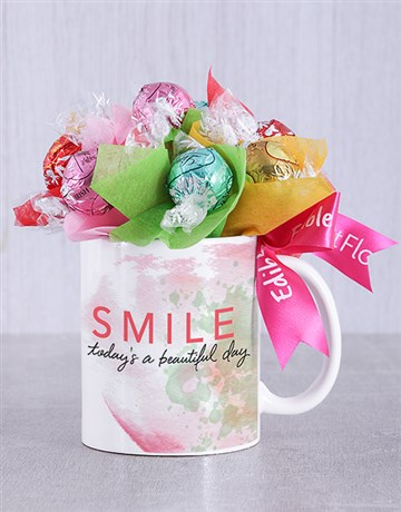 spring-day: Beautiful Day Lindt Mug Arrangement!