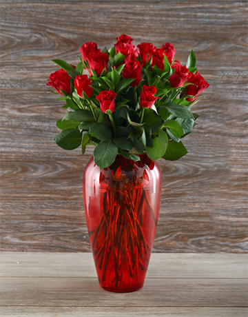 colour: Rosey Red Rose Delight!