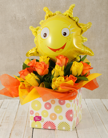spring-day: Sunshine and Roses Box!