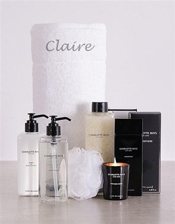 valentines-day: Charlotte Rhys Personalised Bath Gift!