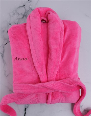 personalised: Personalised Pink Gown!
