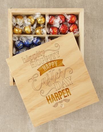 easter: Personalised Hippity Hoppity Lindt Crate!