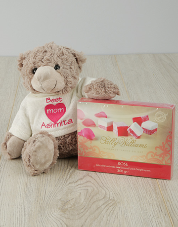 valentines-day: Small Personalised Teddy with Sally Williams!