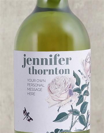 secretarys-day: Personalised Rose Bush Wine!