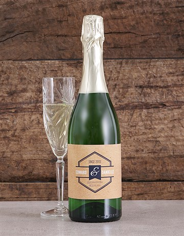 fine-alcohol: Personalised Vintage His and Hers Bubbly!