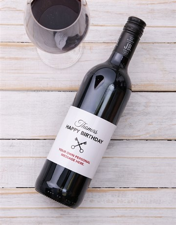 fine-alcohol: Personalised Vintage Birthday Wine!