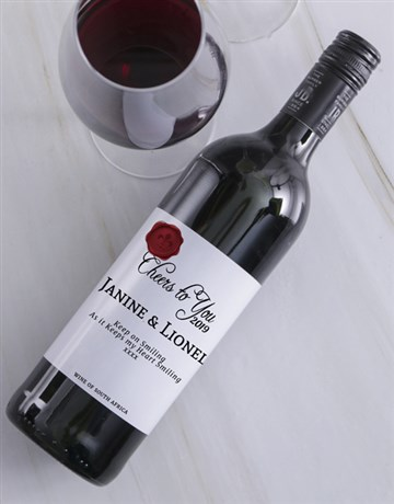 fine-alcohol: Cheers to You Personalised Wine!