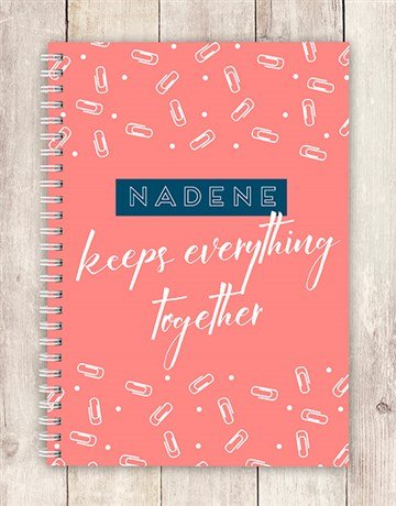 personalised: Personalised Everything Together Notebook!