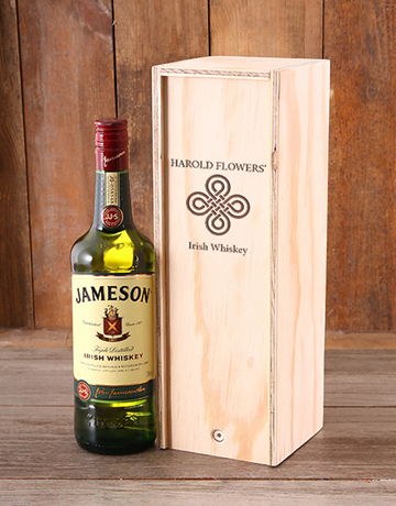 personalised: Personalised Jameson Whiskey Crate!