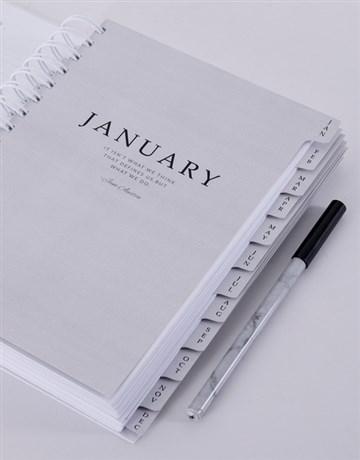 personalised: Personalised Budding Rose Journal!