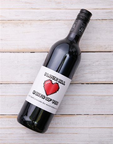 valentines-day: 8 Bits of You Personalised Wine!