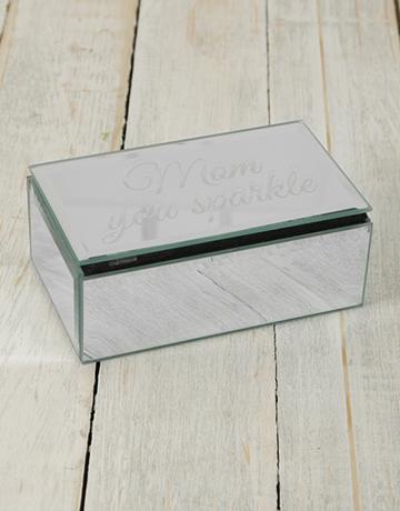 personalised: Personalised Mirror Trinket Box!