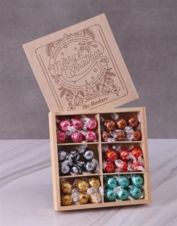 personalised: Personalised Christmas Wonder Lindt Box!