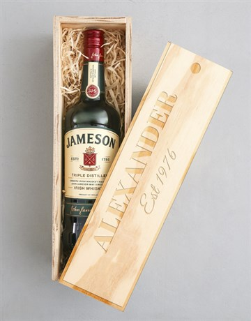 valentines-day: Personalised Jameson Crate!