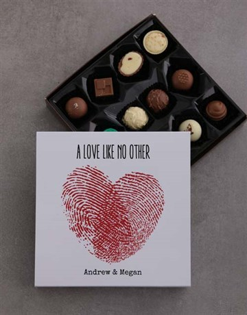 personalised: Personalised Love Like No Other Choc Tray!