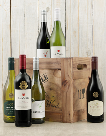 fine-alcohol: Crate of Six Assorted Wines!