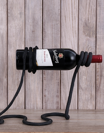 gadgets: Twisted Rope Wine Rack!