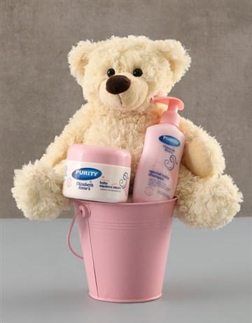 baby: Baby Girl Bucket !