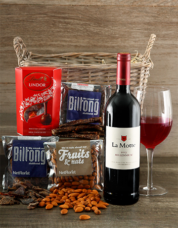 valentines-day: Wine and Dine Basket!