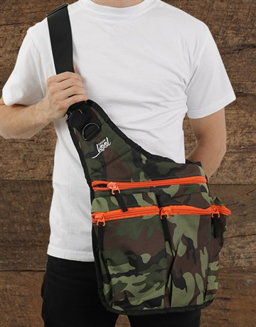 baby: DaddyKool Camo Diaper Bag!