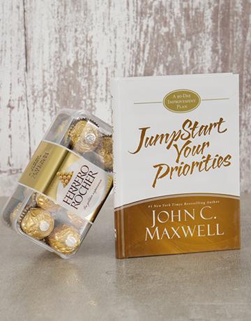 christmas: Jumpstart Your Priorities Book and Ferrero!