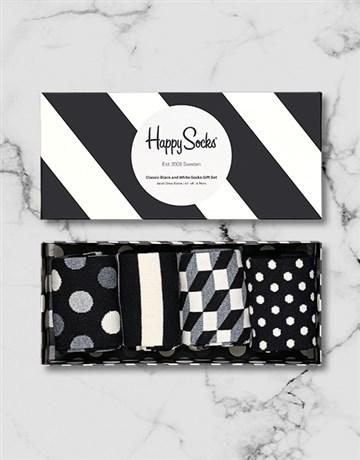 christmas: Black and White Happy Socks Giftbox!
