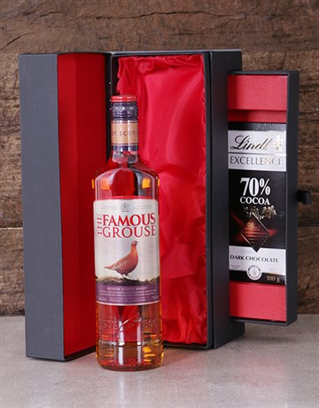 fine-alcohol: Famous Grouse in Luxury Black Box!