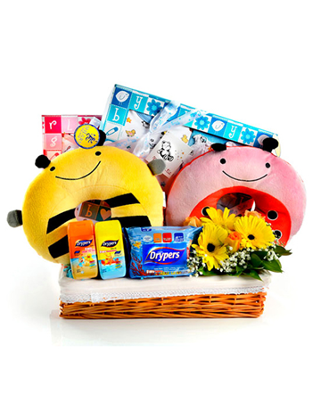 gifts: Necessities Baby Hamper!