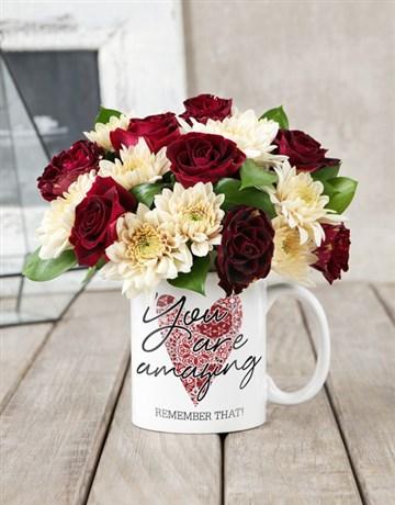 You Are Amazing Rose Mug!