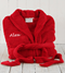 Spoil a friend or loved one with a snuggly red fle