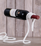 This fun and creative tromp l'oeil rope wine holde