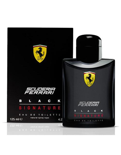 perfume: Ferrari Black Signature 125ml !
