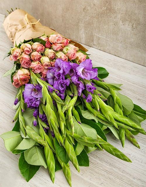 colour: Lilac and Purple Passion Bouquet!