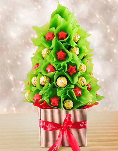 flowers: Christmas Mixed Edible Tree!