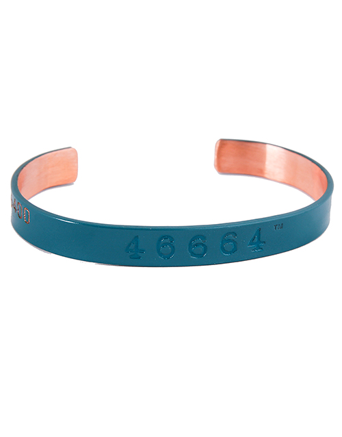 sale: 46664 Copper Bangle Dark Blue!