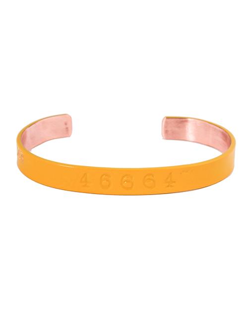 sale: 46664 Copper Bangle Yellow!