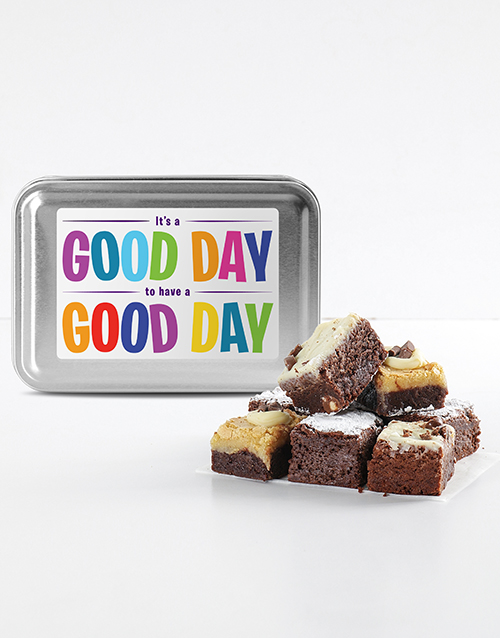 brownies: Have Great Day Brownie Tin!