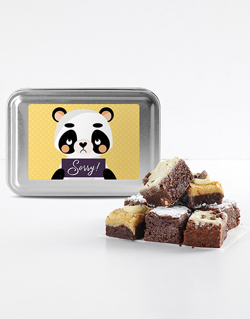 brownies: Sorry Brownie Tin!