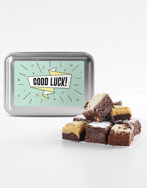 bakery: Good Luck Brownie Tin!