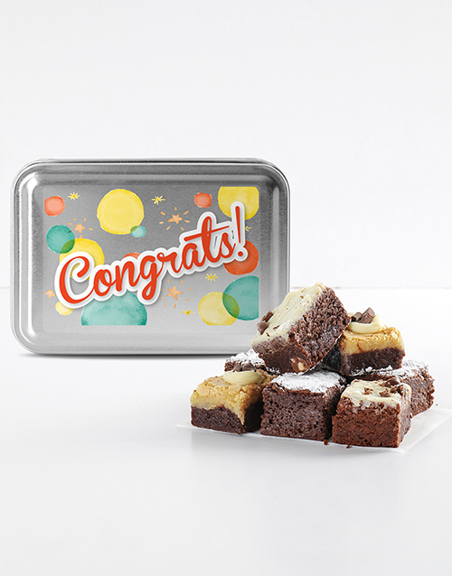 congratulations: Congratulations Brownie Tin!