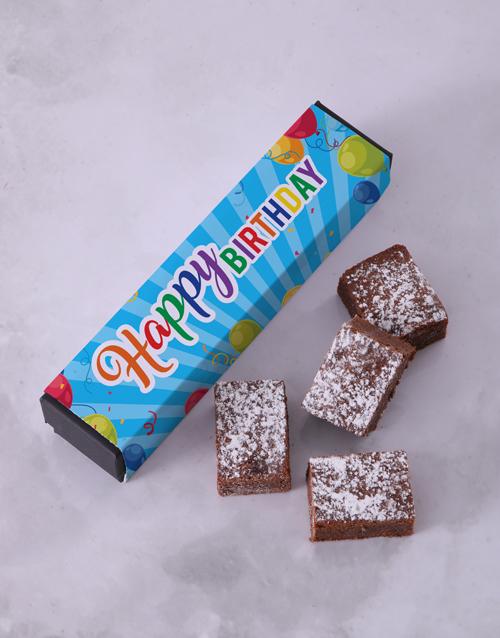 personalised: Birthday Brownie Box!
