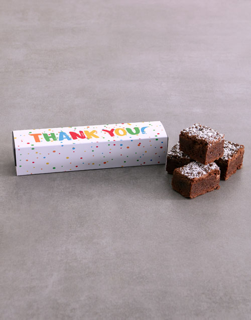 personalised: Thank You Brownie Box!
