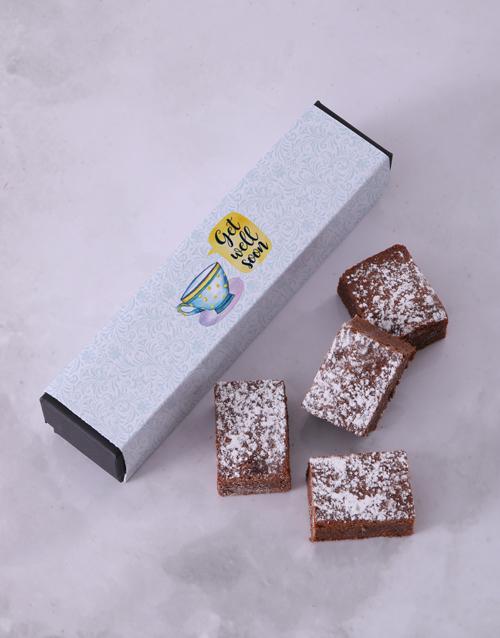 personalised: Get Well Brownie Box!