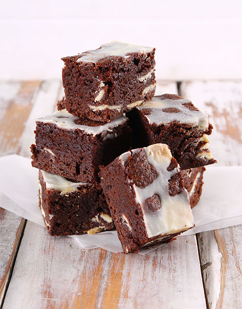 brownies: White Chocolate Chunk Brownies!
