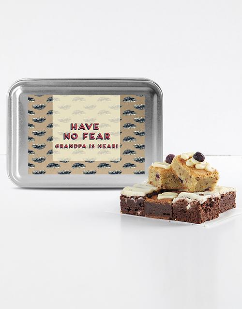 brownies: Gourmet Brownies for Grandpa!