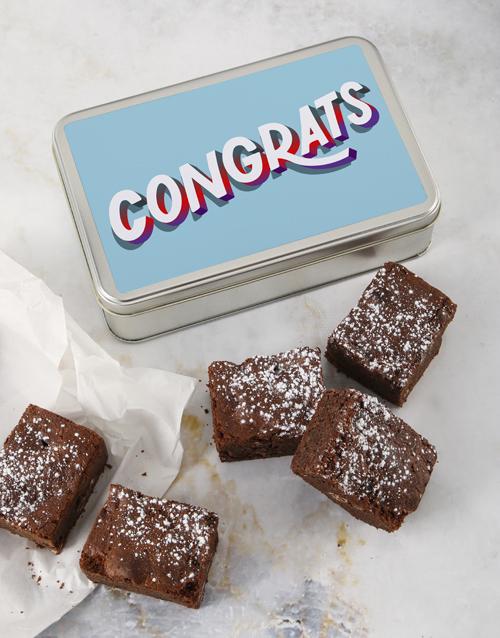 brownies: Congrats Brownie Tin!