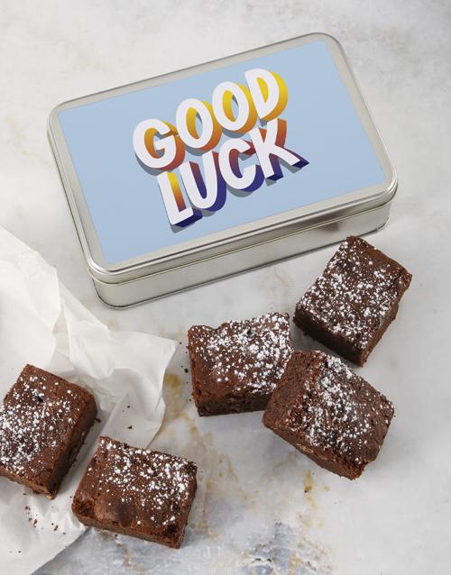 brownies: Good Luck Blissful Brownie Tin!