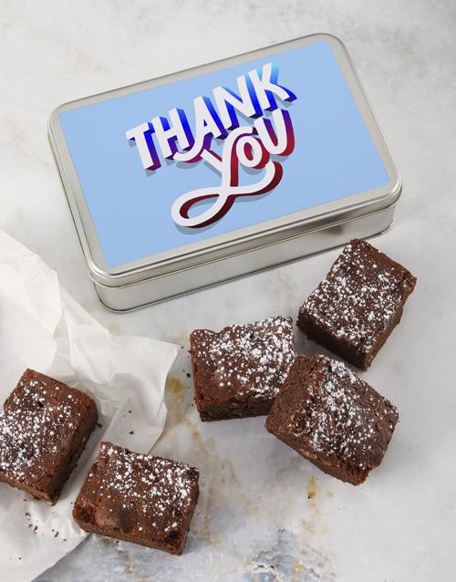 brownies: Brownie Tin Of Thanks!