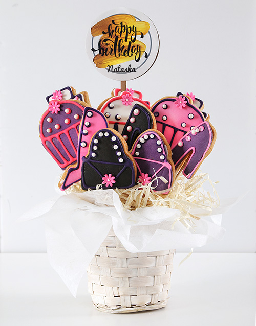 cookies-and-biscuits: Personalised Hoity Toity Birthday Cookie Bouquet!